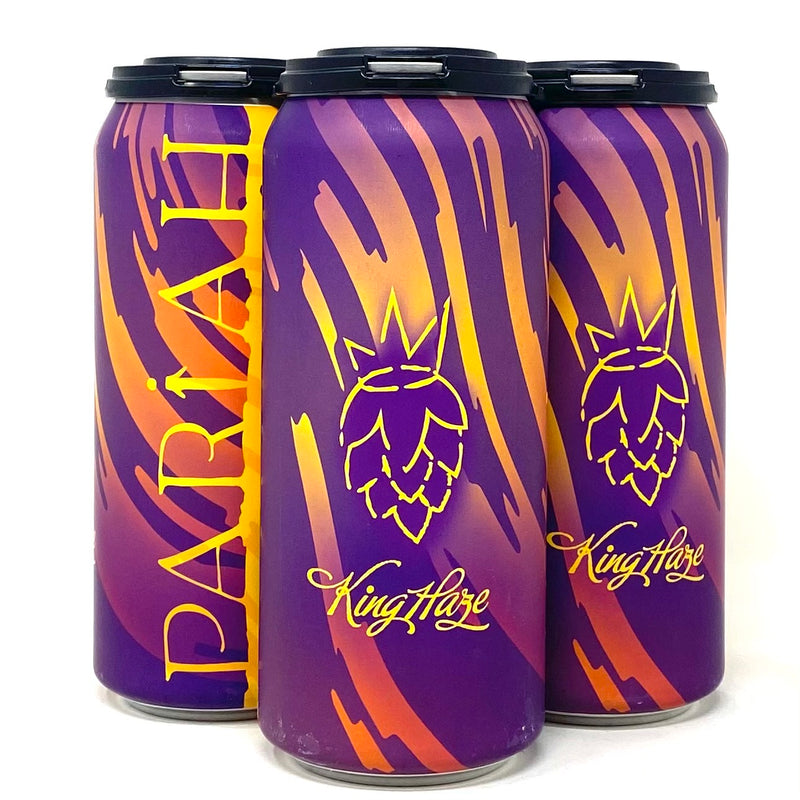 PARIAH KING HAZE DDH HAZY DIPA 16oz can