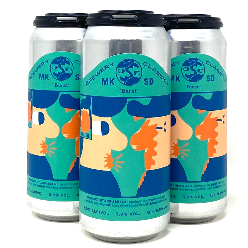 MIKKELLER SD 'BURST' WEST COAST IPA 16oz can