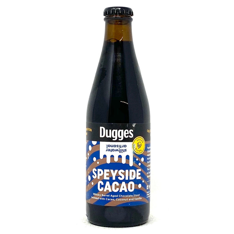 DUGGES SPEYSIDE & STILLWATER CACAO WHISKEY BARELL AGED CHOCOLATE STOUT 11.2oz Bottle