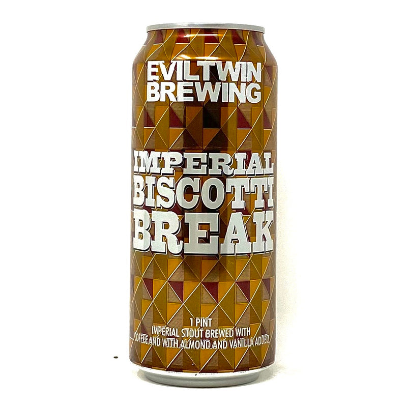 EVIL TWIN IMPERIAL BISCOTTI BREAK STOUT 16oz can