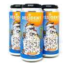 RESIDENT BREWING FIRST SNOW GOLDEN ALE 16oz can