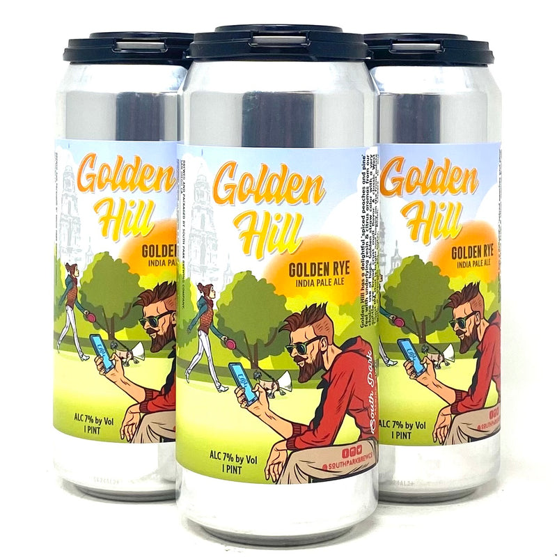 SOUTH PARK BREWING GOLDEN HILL GOLDEN RYE IPA 16oz can