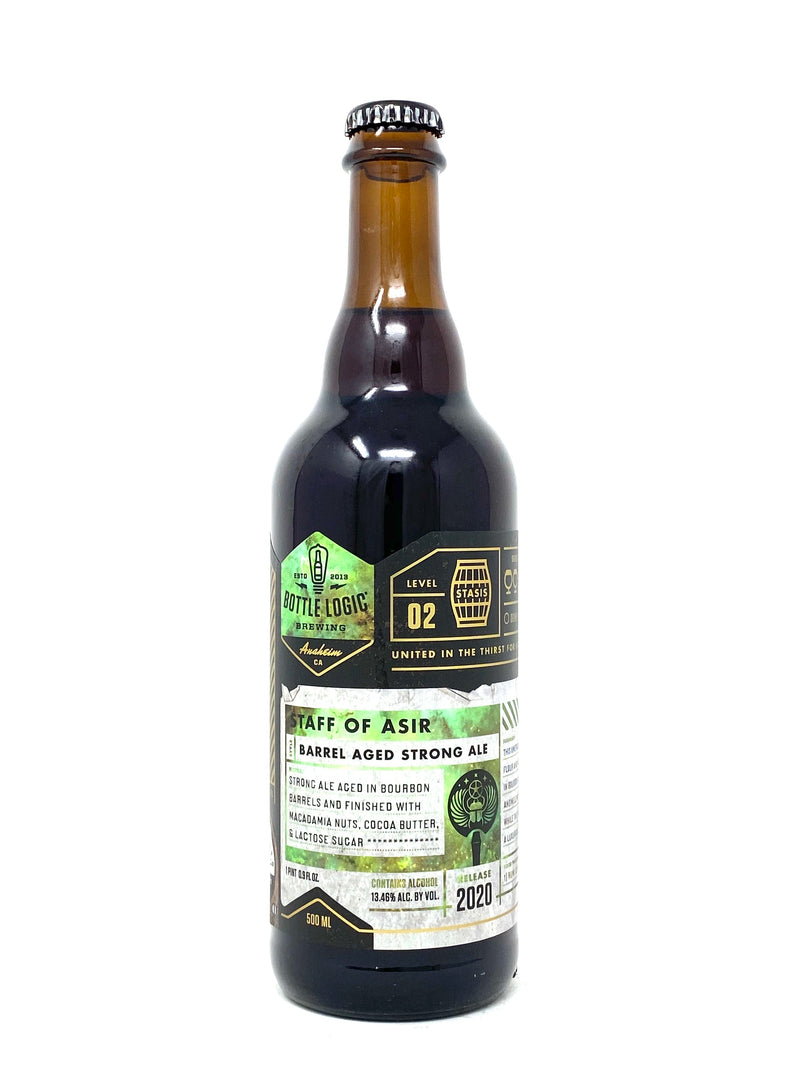 BOTTLE LOGIC BREWING 2020 STAFF OF ASIR BA STRONG ALE 500ml (LIMIT 1)