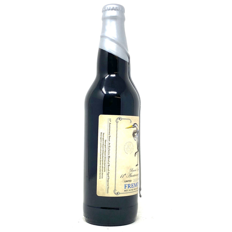 FREMONT 2020 *LIMITED RELEASE* BARREL AGED 11th ANNIVERSARY IMPERIAL STOUT 22oz Bottle ***LIMIT 1 PER CUSTOMER***