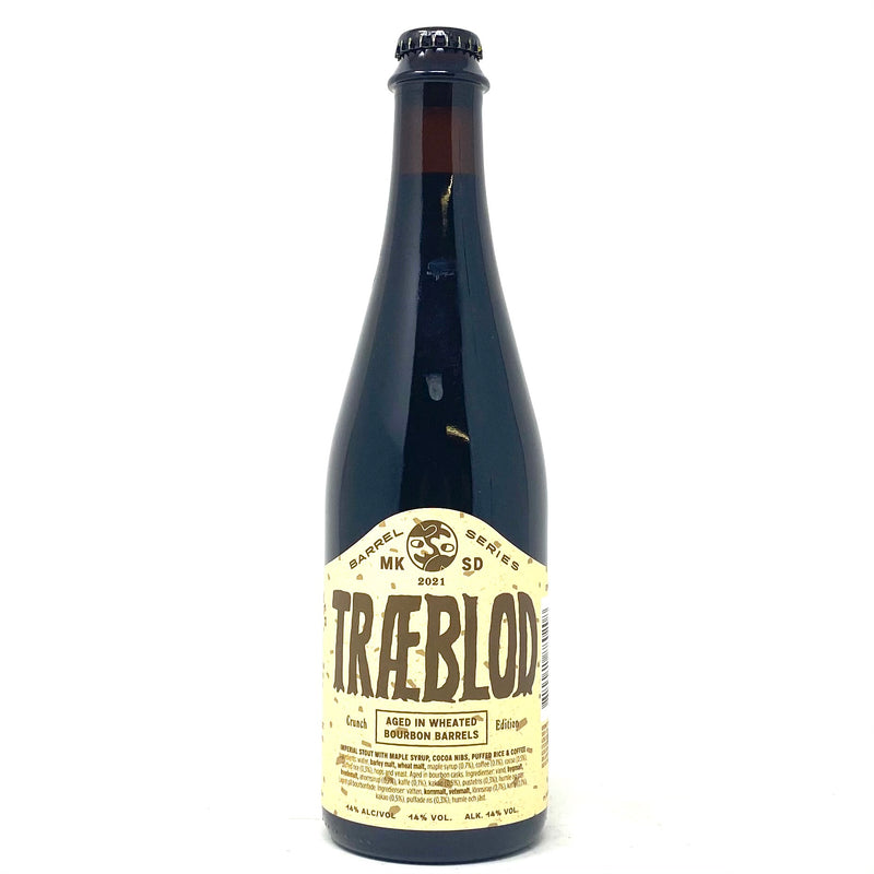 MIKKELLER SD 2021 TRAEBLOD CRUNCH EDITION IMPERIAL STOUT 500ml Bottle