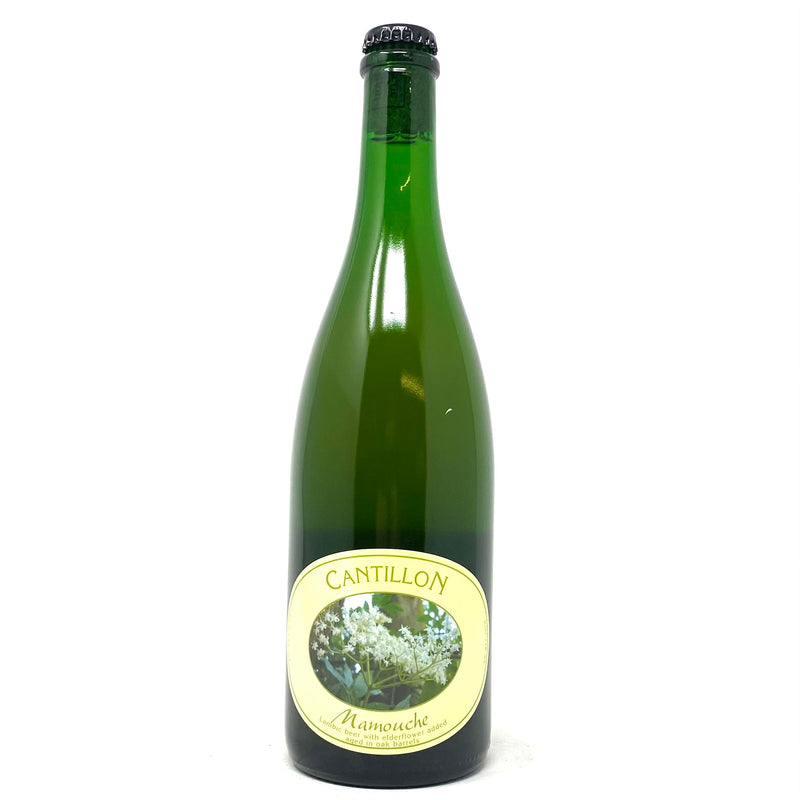 CANTILLON MAMOUCHE LAMBIC BEER w/ ELDERFLOWER AGED IN OAK BARRELS 750ml Bottle ***Limit 1 PER ORDER***