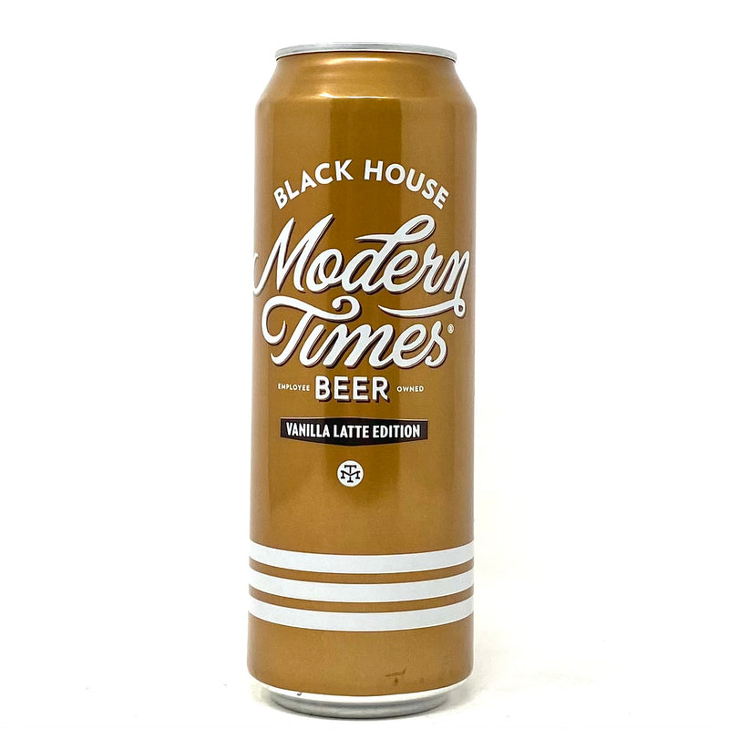 MODERN TIMES BLACK HOUSE VANILLA LATTE EDITION 19.2oz can