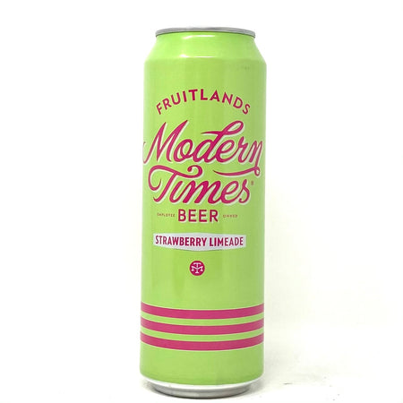 MODERN TIMES FRUITLANDS STRAWBERRY LIMEADE GOSE 19oz can