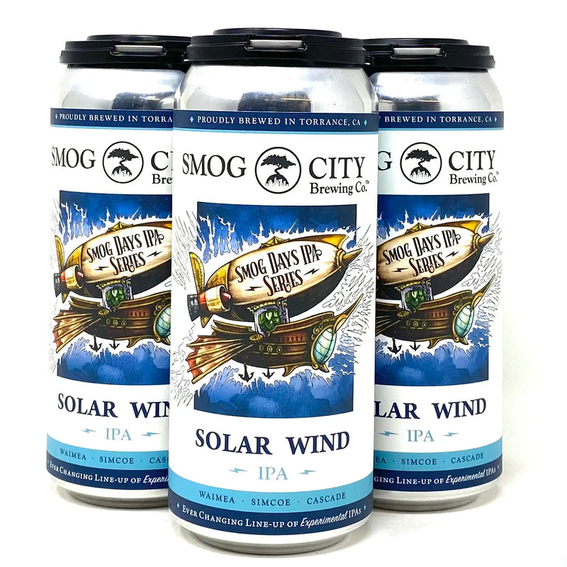 SMOG CITY SOLAR WIND IPA 16oz can