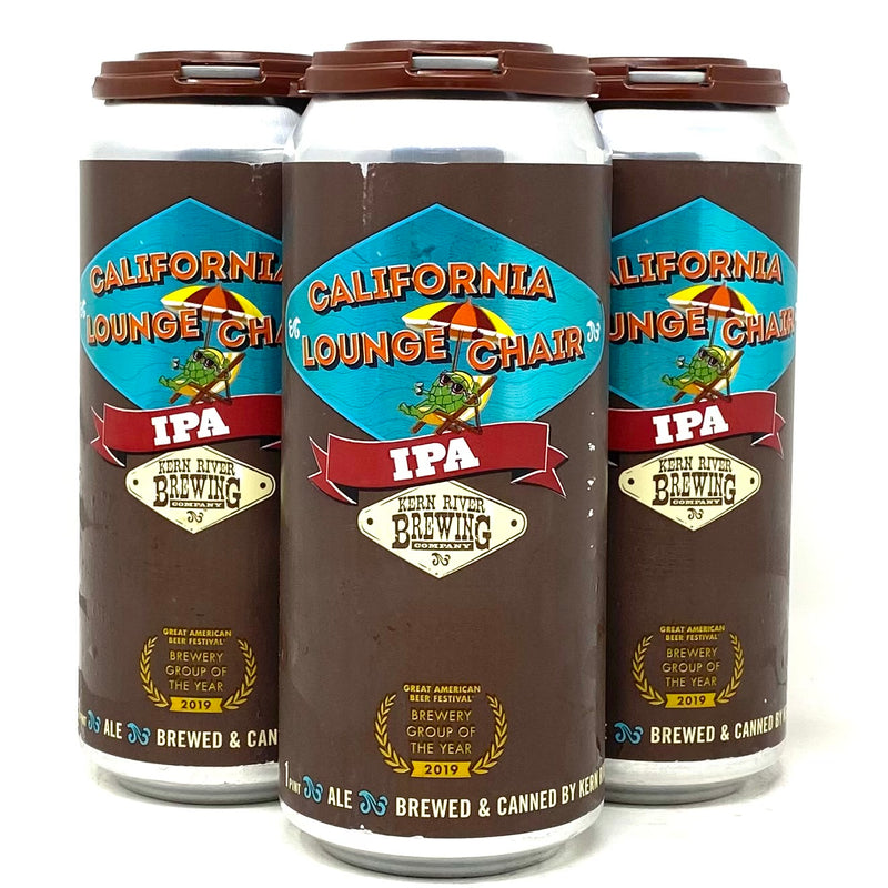 KERN RIVER CALIFORNIA LOUNGE CHAIR IPA 16oz can