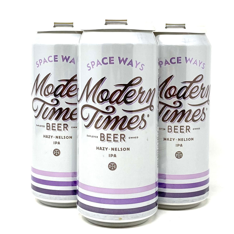 MODERN TIMES SPACE WAYS HAZY NELSON IPA 16oz can