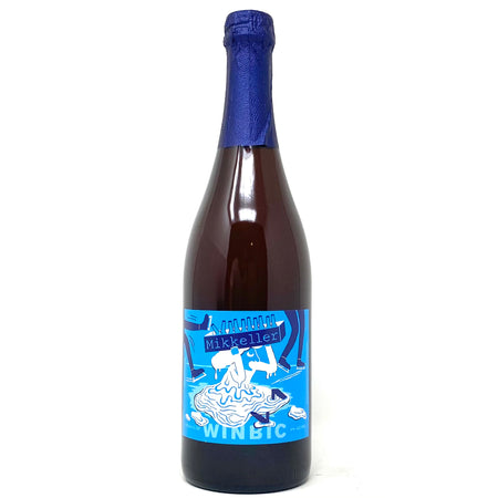 MIKKELLER WINBIC SPONTANALE & SAISON BLENDED HOLIDAY BEER 750ml Bottle
