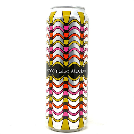 MODERN TIMES & THREES BREWING CHROMATIC ILLUSION BALTIC PORTER 1PT 3.2oz can