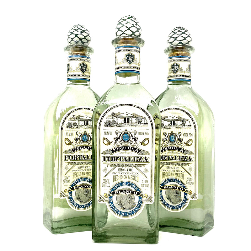 FORTALEZA BLANCO TEQUILA 750ml Bottle