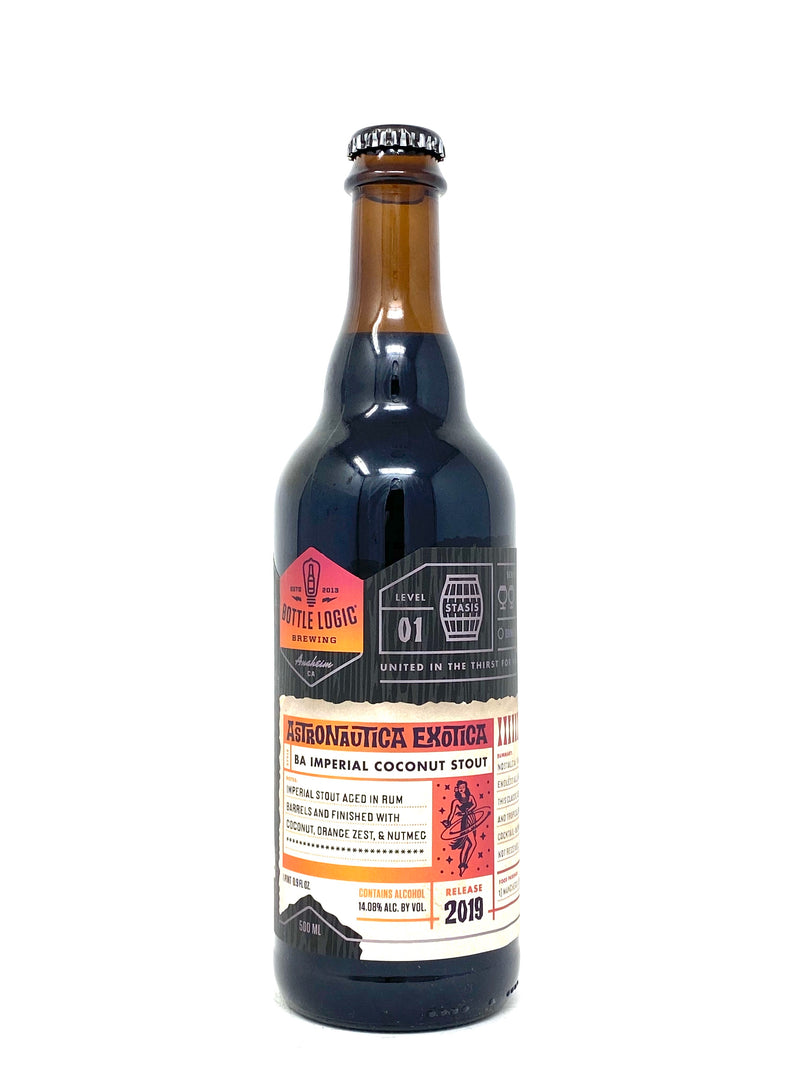 BOTTLE LOGIC 2019 ASTRONAUTICA EXOTICA BA IMPERIAL COCONUT STOUT 500ml (limit 1)