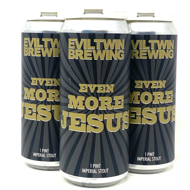 EVILTWIN BREWING EVEN MORE JESUS IMPERIAL STOUT 16oz can