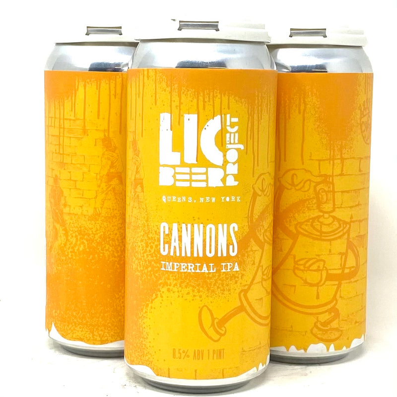 LIC BEER PROJECT CANNONS IMPERIAL IPA 16oz can