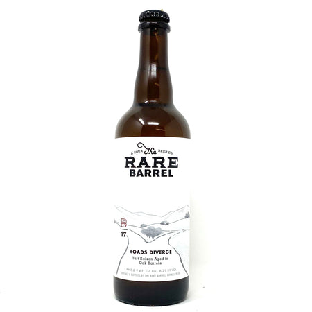 RARE BARREL 2017 ROADS DIVERGE TART SAISON 750ml Bottle