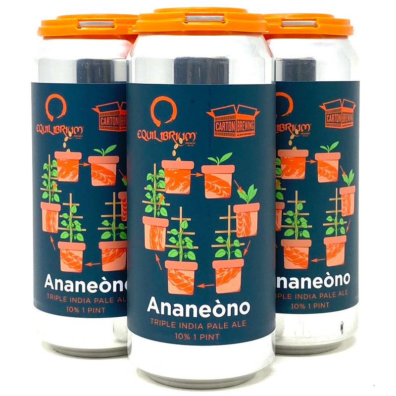 EQUILIBRIUM BREWING ANANEONO TIPA 16oz can