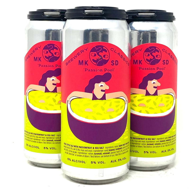 MIKKELLER BREWING PASSION POOL GOSE STYLE ALE 16oz can