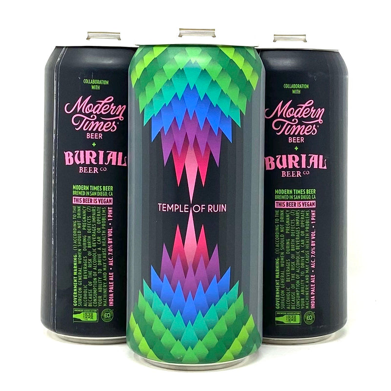 MODERN TIMES & BURIAL BEER / TEMPLE OF RUIN IPA 16oz can