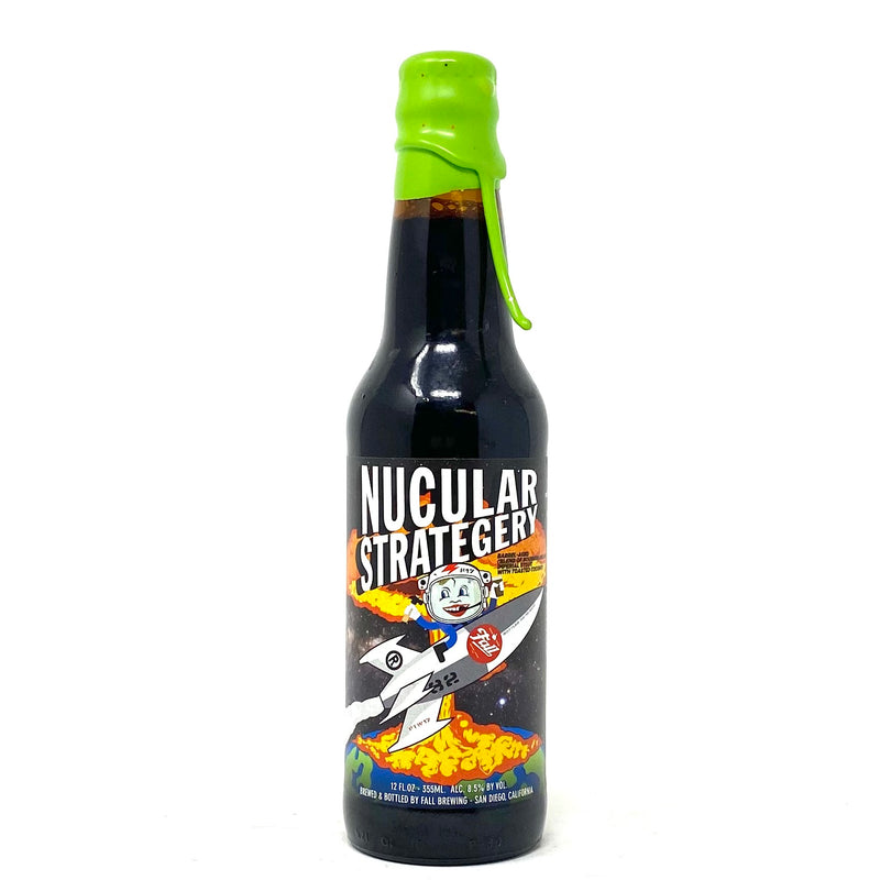FALL BREWING NUCLEAR STRATEGY B.A. IMPERIAL STOUT 12oz Bottle
