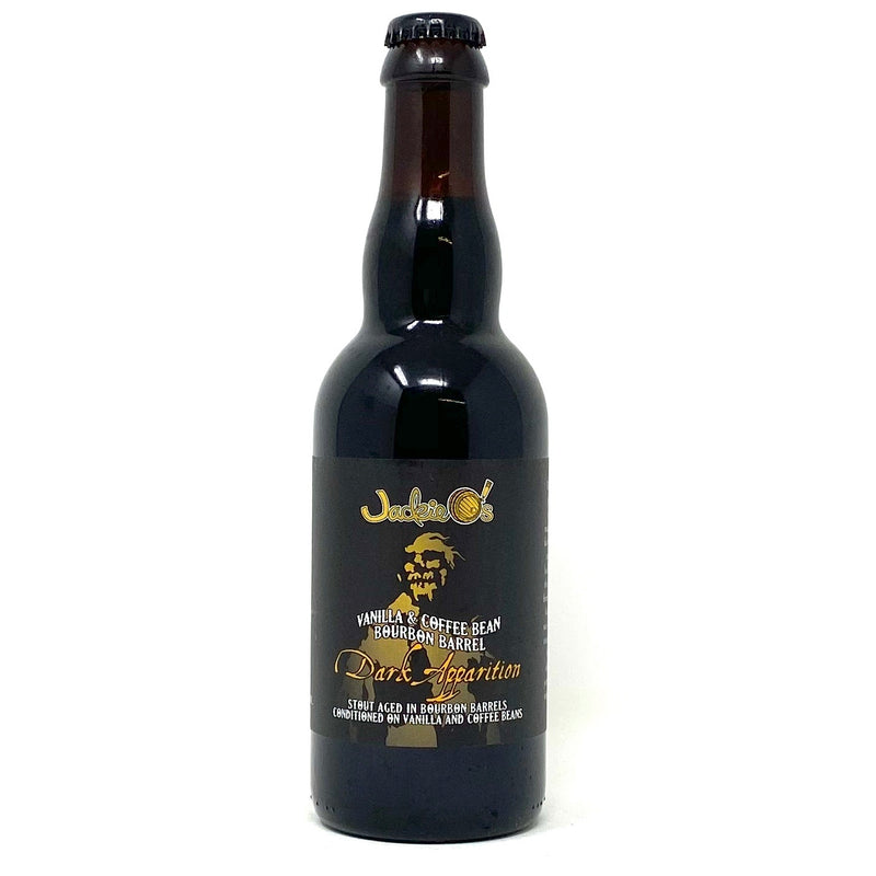 JACKIE O'S DARK APPARITION VANILLA COFFEE BEAN BOURBON BARREL AGED STOUT 12.7oz  (LIMIT 1 PER PURCHASE)