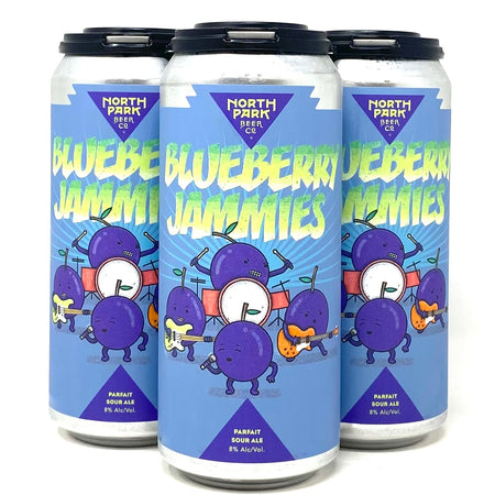 NORTH PARK BEER CO. BLUEBERRY JAMMIES PARFAIT SOUR ALE 16oz can