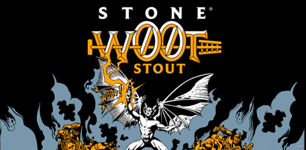 Stone Brewing Farking Wheaton w00tstout 2018 22oz