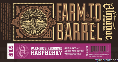 Almanac Farmer's Reserve Raspberry 375ml LIMIT 2
