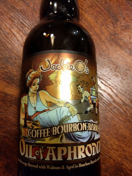 Jackie O's Coffee Bourbon Barrel Oil of Aphrodite 375ml limit 1