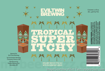 Evil Twin Tropical Super Itchy 12oz Can