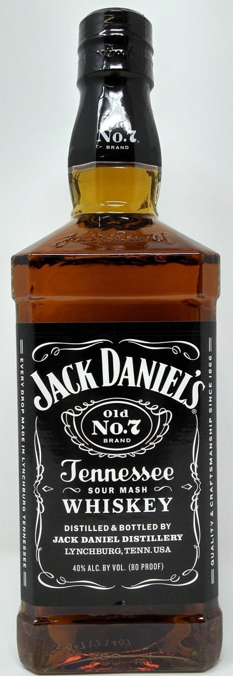 JACK DANIELS OLD NO. 7 TENNESSEE BOURBON 1.75L