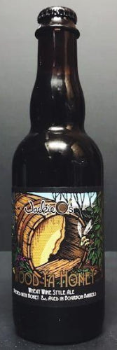 JACKIE O'S WOOD YA HONEY WHEAT WINE STYLE ALE 12.7oz (LIMIT 1 PER PURCHASE)