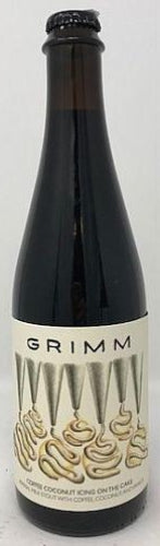 GRIMM COFFEE COCONUT ICING ON THE CAKE IMPERIAL MILK STOUT 16.9oz (LIMIT 1 PER PURCHASE)