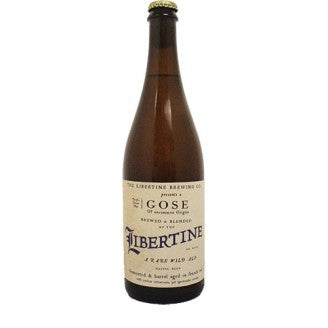 Libertine Gose Sea Water Salted Gose 750ml