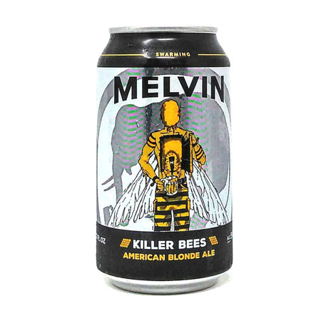 MELVIN BREWING KILLER BEES AMERICAN BLONDE ALE 12oz can