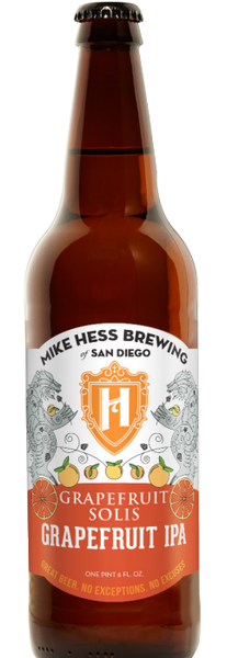 MIKE HESS GRAPEFRUIT SOLIS IPA 22OZ