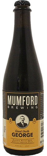 Mumford Brewing Great Uncle George Bourbon Barrel-Aged Russian Imperial Stout 500ml LIMIT 2