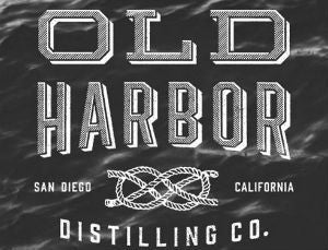 Old Harbor Distilling Co BarrelFlag Navy Strength Rum