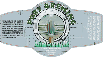 PORT BREWING 13TH ANNIVERSARY DOUBLE IPA 19OZ CAN