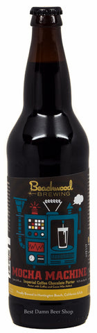 Beachwood Brewing Mocha Machine Imperial Coffee Chocolate Porter 22oz LIMIT 4