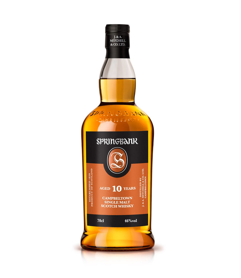 SPRINGBANK 10 YR SINGLE MALT SCOTCH