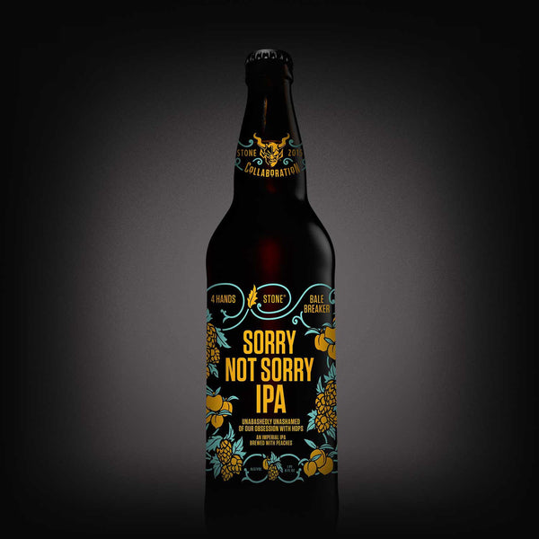Stone/4 Hands/Bale Breaker Sorry Not Sorry IPA LIMIT 1