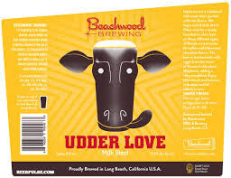 Beachwood Brewing Udder Love 22oz