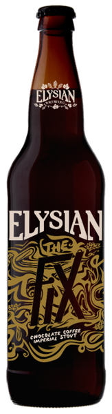 ELYSIAN THE FIX CHOCOLATE COFFEE IMPERIAL STOUT 22oz