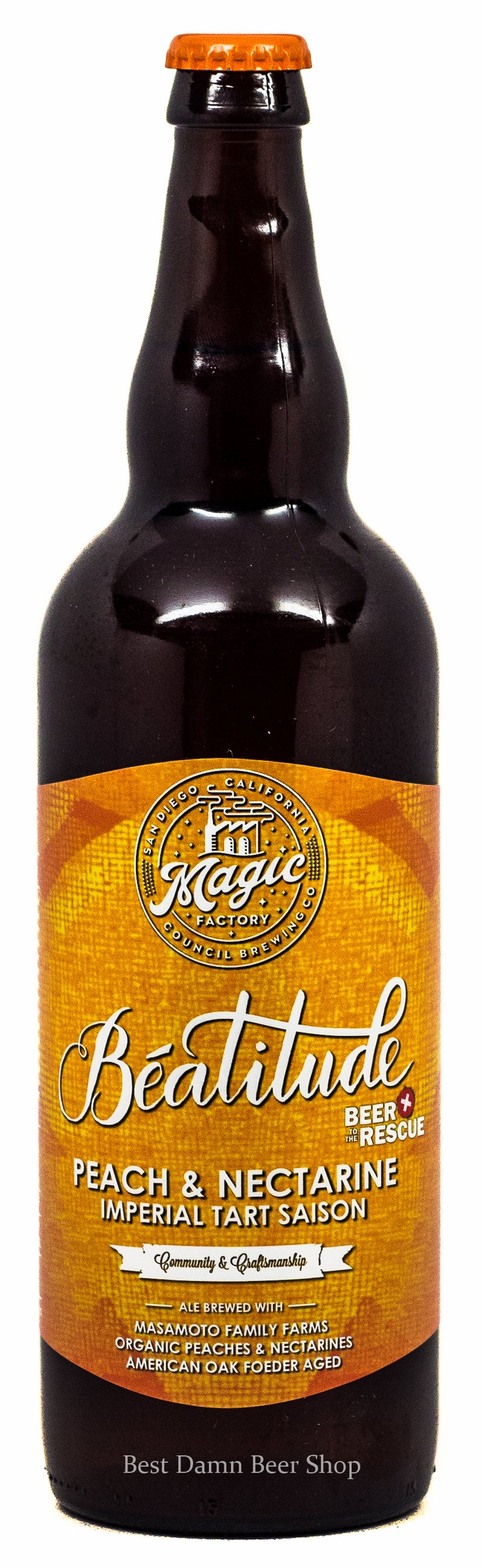 Council Beatitude With Peach and Nectarine Oak foeder Aged 750ml