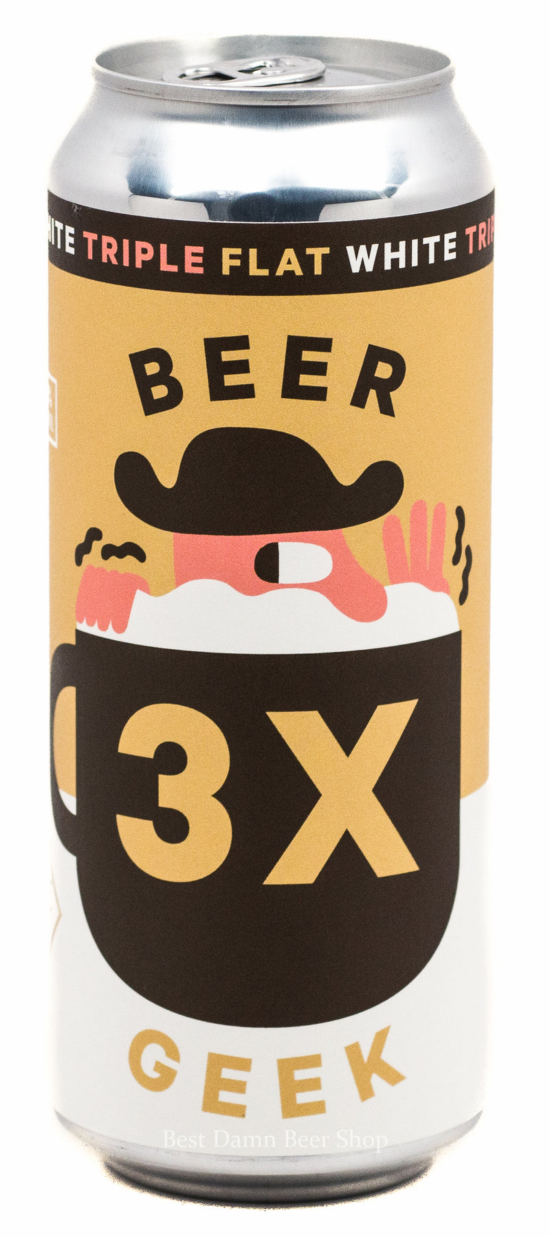 Mikkeller Beer Geek TRIPLE Flat White 500ml CAN
