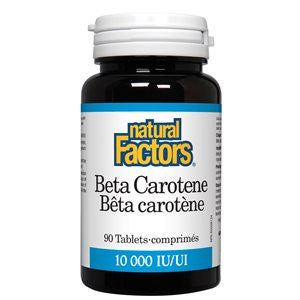 Natural Factors Beta Carotene 10,000 IU