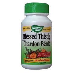 Natures Way Blessed Thistle Herb